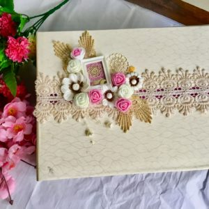 Engagement scrapbook Album