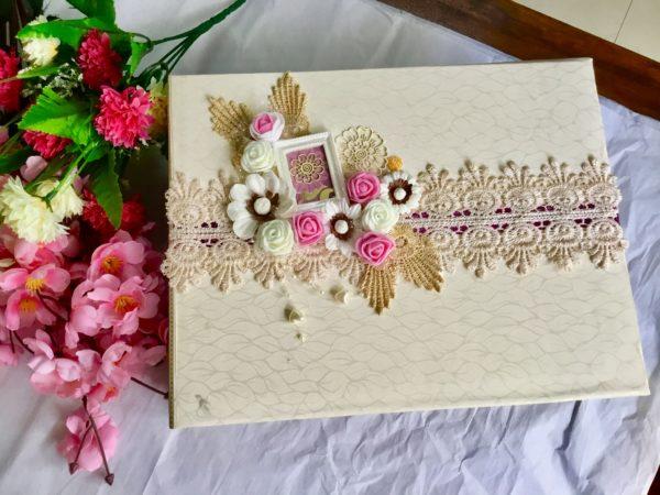 Engagement scrapbook Album