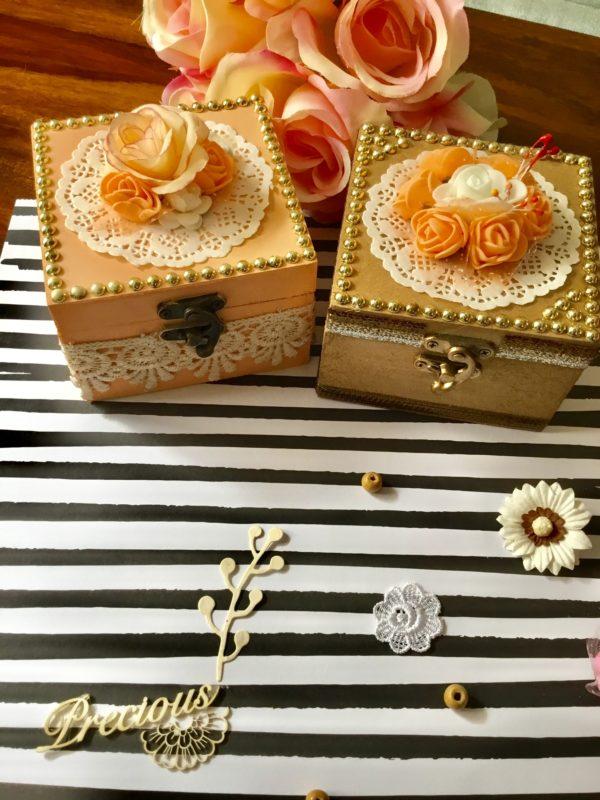 Handmade box for wedding