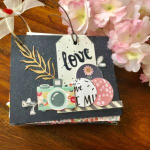 Mini love scrapbook