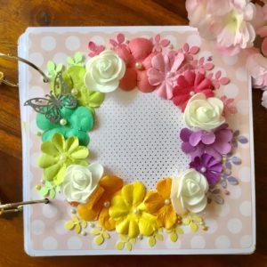 Handmade scrapbook gift