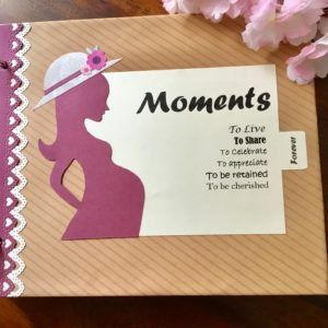 Mom to be scrapbook