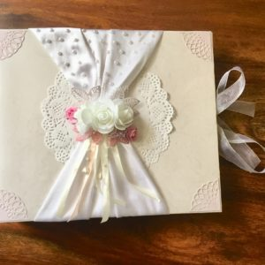 Newly wed scrapbook gift
