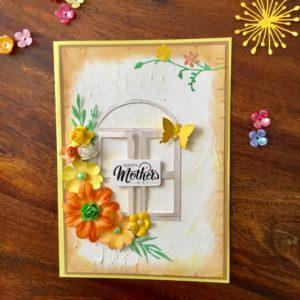 Handmade card for mom