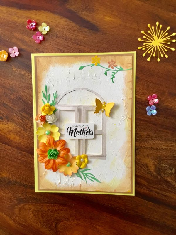 Handmade card for mom