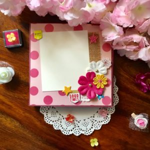 Mini scrapbook handmade gift