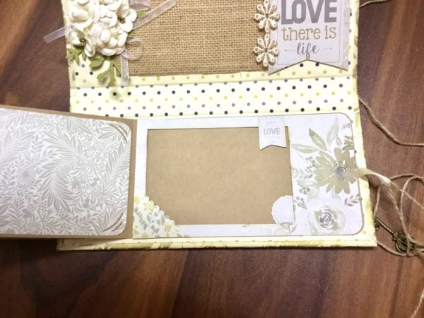 Mini Accordion Scrapbook