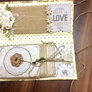 Accordion Scrapbook Album
